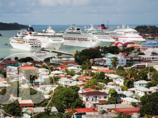 Liners in St John's, Antigua