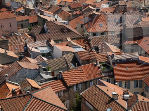 Rooftops over Millau